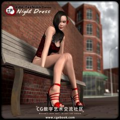 Edo Fashion_Night Dress for V4 + Asian Collectibles。