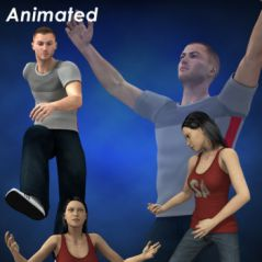 mixamo animation sampler pack for m4 and v4 2