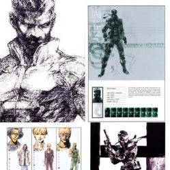 [Metal Gear Solid 1] Artbook