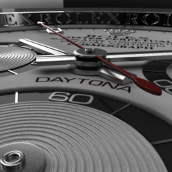 6GB-Modeling of ROLEX DAYTONA watch in Maya 2011(劳力士手表模型制作)