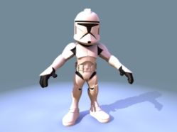 Mini_Toon_Clone_Trooper 模型